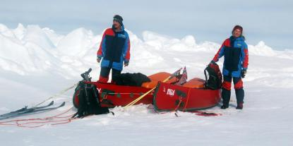 First Summer North Pole expedtion with Cecilie Skog