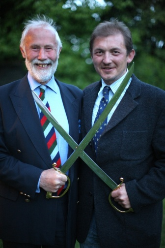 Chris Bonington and Rune