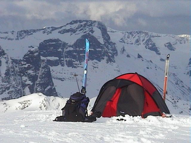 My Bergans Antarctica tent.