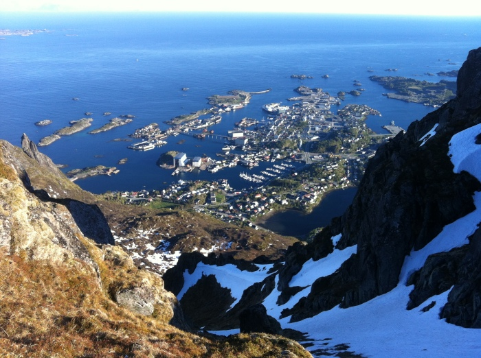 Svolvaer from Blåtind