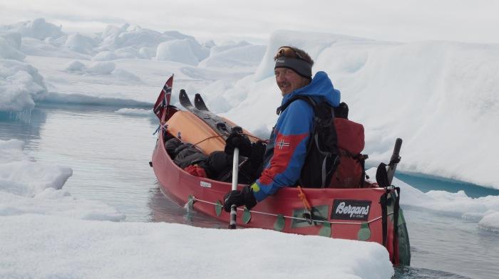 Ally on the Arctic Ocean - summertime.