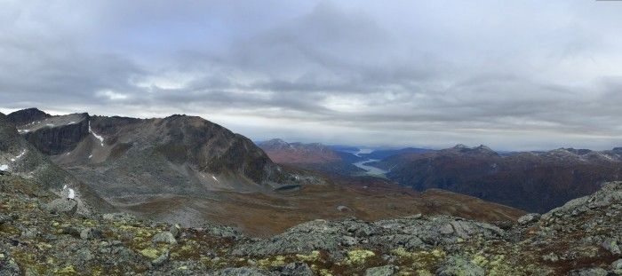 View towards Skjerdingfjellet and Todalen