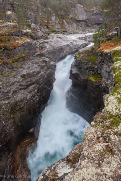 Waterfall Bjorli